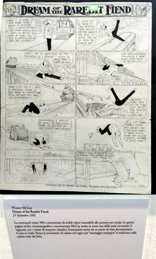 """foto 10 della mostra """"Winsor McCay, Il maestro di tutti"""": DREAM OF THE RAREBIT FIEND"""