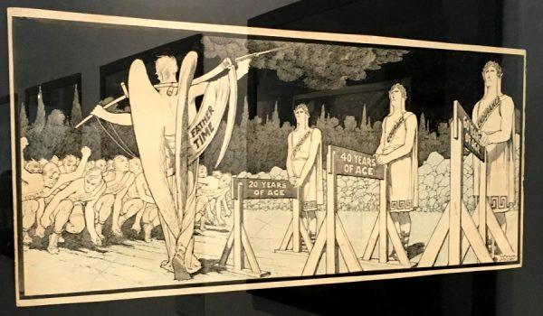"""foto 13 della mostra """"Winsor McCay, Il maestro di tutti"""": Illustrazioni satiriche"""