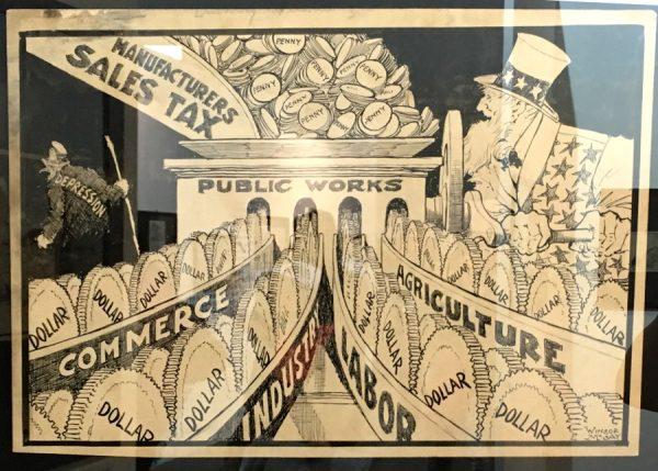 """foto 14 della mostra """"Winsor McCay, Il maestro di tutti"""": Illustrazioni satiriche"""