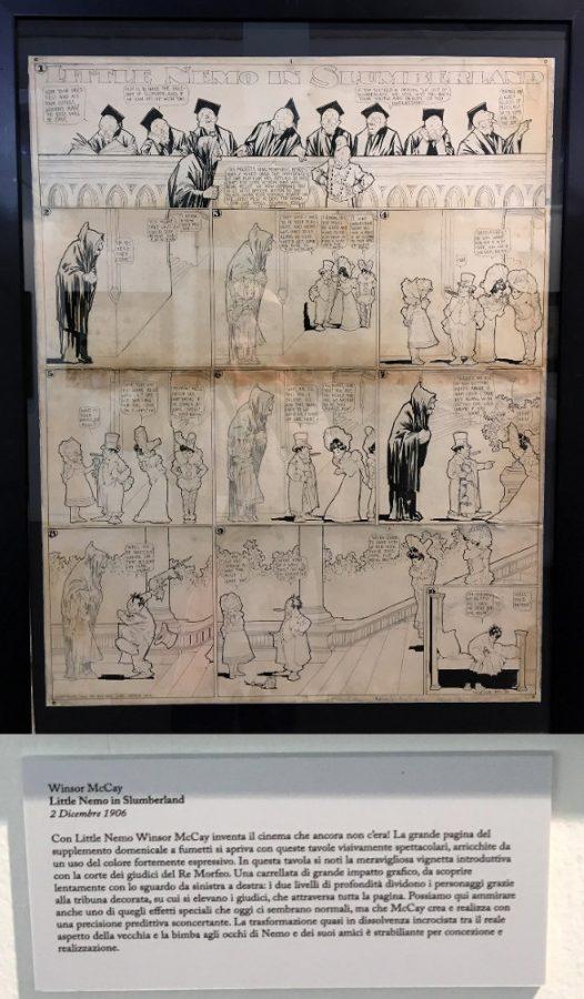 """foto 15 della mostra """"Winsor McCay, Il maestro di tutti"""": LITTLE NEMO IN SLUMBERLAND"""