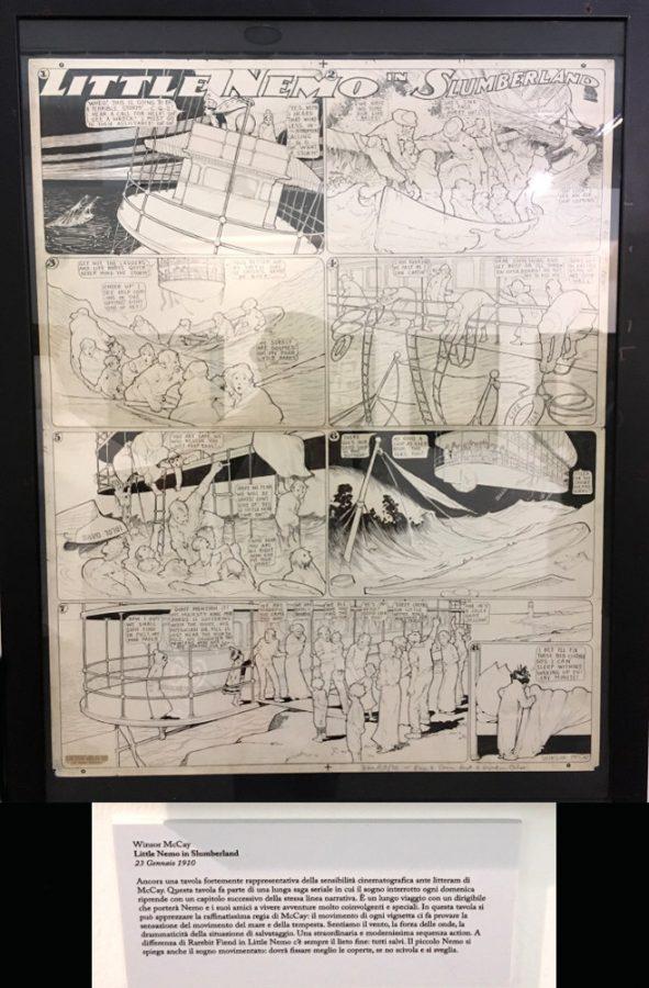 """foto 18 della mostra """"Winsor McCay, Il maestro di tutti"""": LITTLE NEMO IN SLUMBERLAND"""