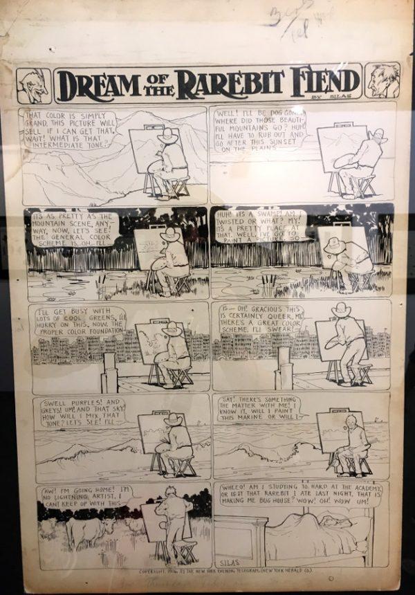 """foto 19 della mostra """"Winsor McCay, Il maestro di tutti"""": DREAM OF THE RAREBIT FIEND"""