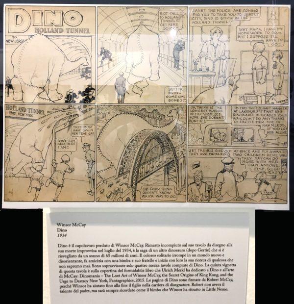 """foto 20 della mostra """"Winsor McCay, Il maestro di tutti"""": DINO"""