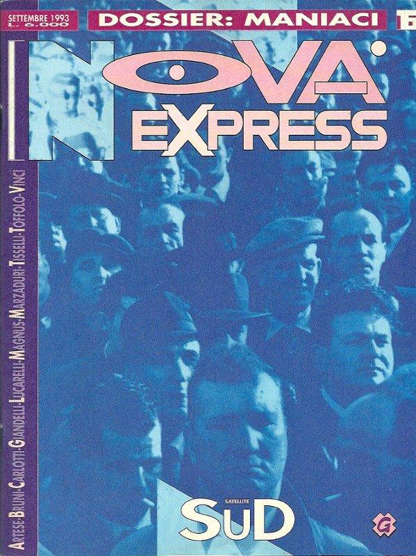 Copertina del n. 16 della rivista Nova Express