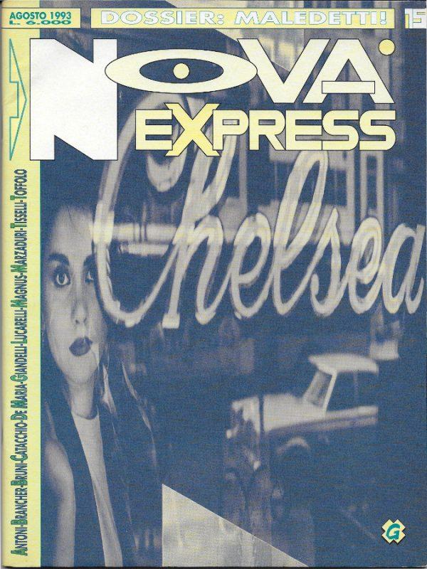 Copertina del n. 15 della rivista Nova Express