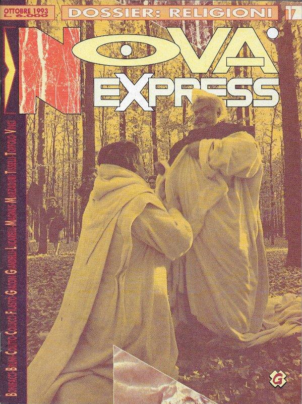 Copertina del n. 17 della rivista Nova Express