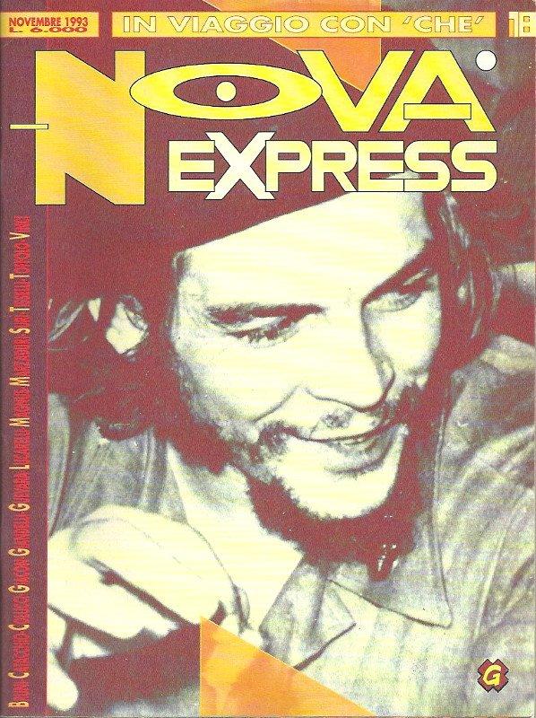 Copertina del n. 18 (l'ultimo) della rivista Nova Express