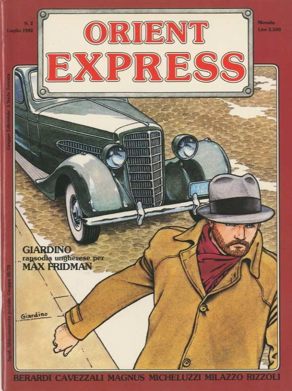 Copertina del n. 2 della rivista Orient Express (luglio 1982)
