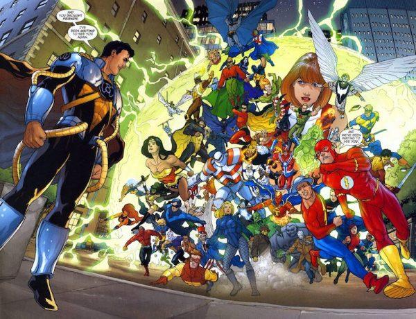 Copertina del gruppo Passione per la DC Comics