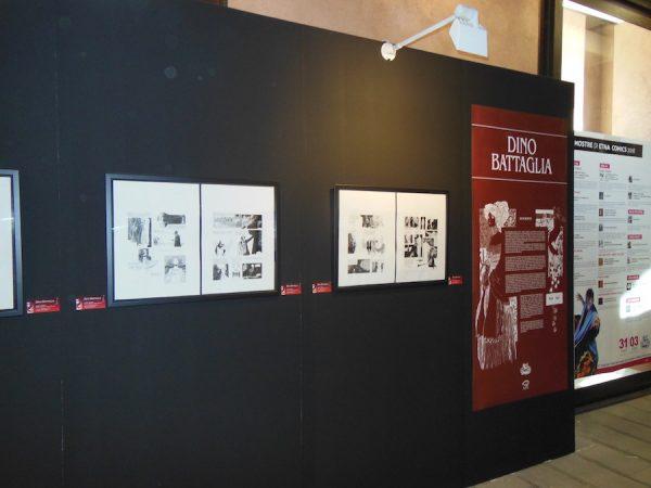 foto 1 della Mostra dedicata a Dino Battaglia