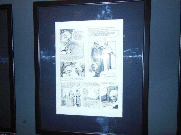 foto 4 della Mostra dedicata a Dino Battaglia