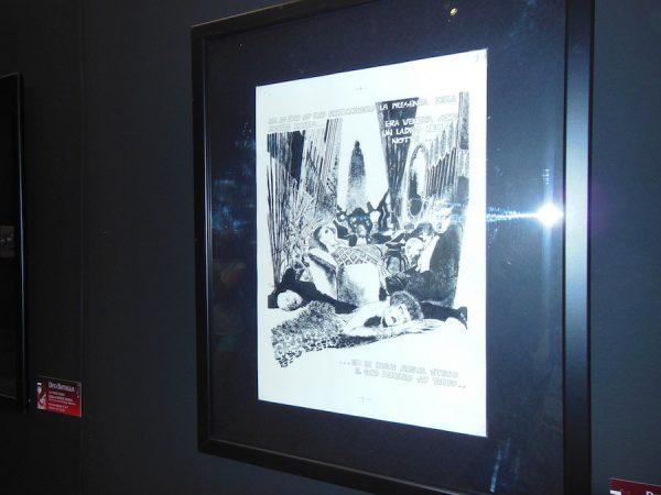 foto 2 della Mostra dedicata a Dino Battaglia