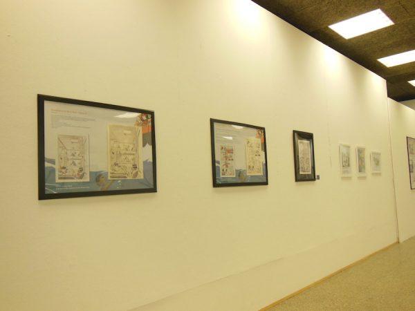 """foto 3 panoramica della Mostra """"SALVEZZA"""" di MARCO RIZZO E LELIO BONACCORSO"""