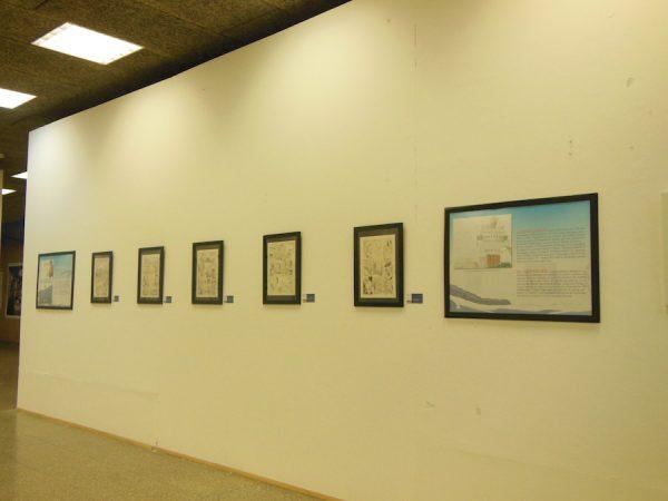 """foto 2 panoramica della Mostra """"SALVEZZA"""" di MARCO RIZZO E LELIO BONACCORSO"""
