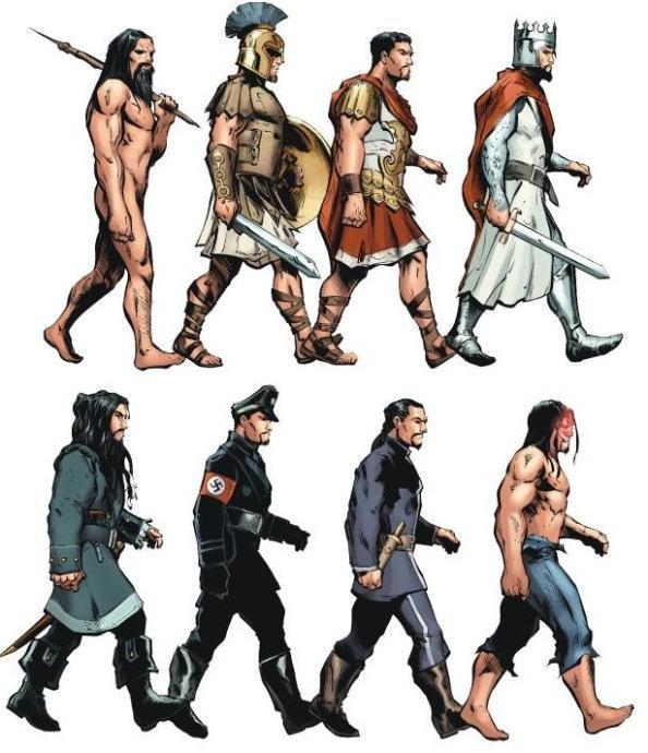 L'evoluzione di Vandal Savage.