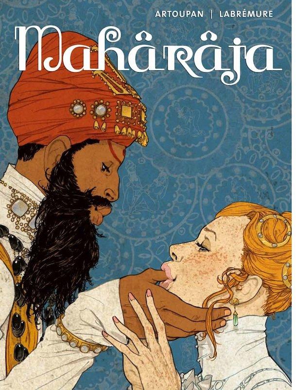Copertina del volume Maharaja_Sans-titre