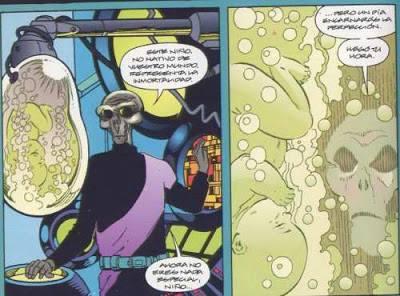 La creazione di Doomsday ad opera di Bertron