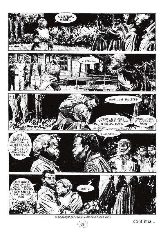 ANTEPRIMA FREEMAN, primo episodio. Dopo i due layout di Vincenzo Angelo Arces ecco la tavola 12 finita