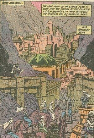 Bana Mighdale la città dove poi arriverà artemide in future storie di wonder woman