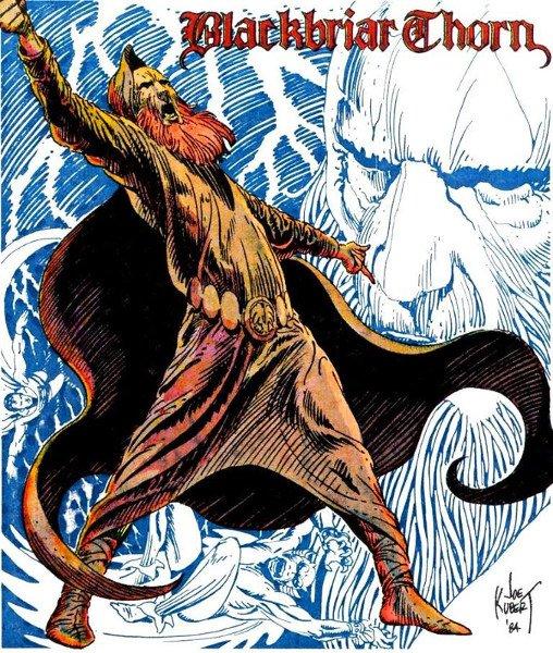 Il grande demone sacerdote degli antichi druidi era Blackbriar Thorn,