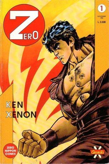 Copertina del n. 1 di Zero (novembre 1990, ed. granata press)