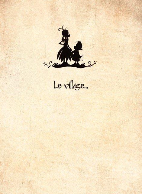 pagina di apertura del capitolo Le village - 5-d-s