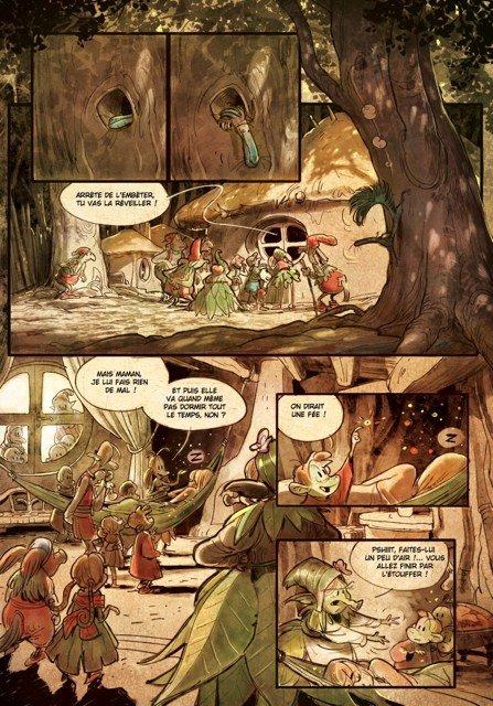 Tavola 6 completa, anche dei colori, di Brindille