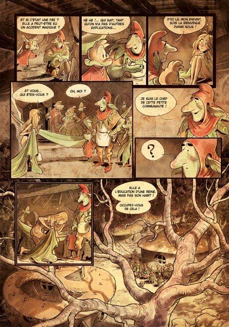 Tavola 9 completa, anche dei colori, di Brindille