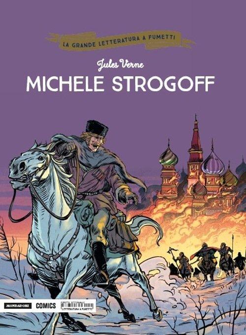 Copertina del volume Michele strogof (5 ottobre 2018)
