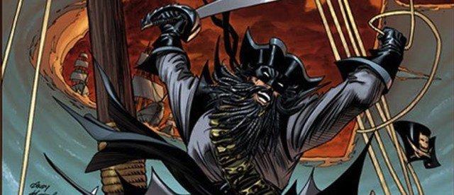 """Bruce Wayne nel suo viaggio nel tempo nel periodo """"il ritorno di bruce wayne"""" (nell'immagine di sopra hai tempi dei pirati) - DAL DIARIO DI RIP HUNTER parte 8^"""