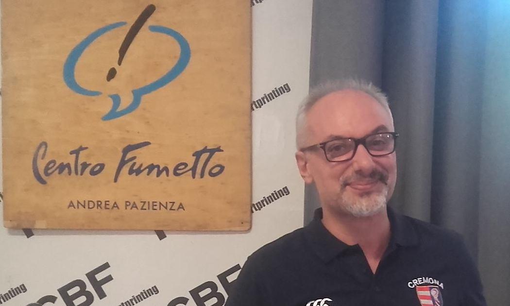 """FOTO DI MICHELE GINEVRA, responsabile del centro fumetto """"Andrea Pazienza"""""""