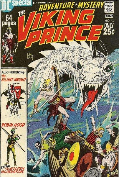 cover con il principe vichingo e si vede anche Robin Hood