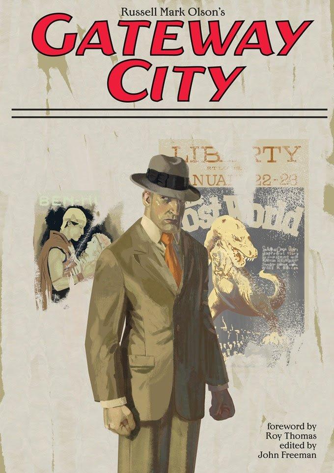 Copertina di Gateway City di Russell Mark Olson's