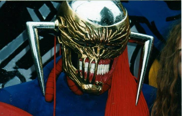 Marvel UK's Death's Head II was brought to life thanks to Tim Quinn back in the 1990s