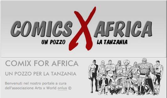logo ComicsXAfrica 2011