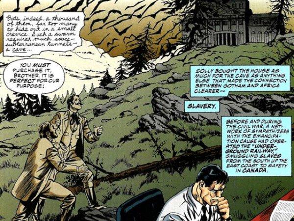 Solomon Wayne quando edificò villa Wayne per salvare gli schiavi - DAL DIARIO DI RIP HUNTER parte 8^