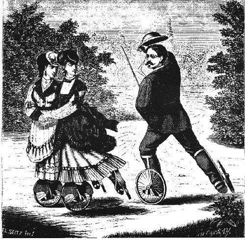 """L'ispirazione  degli Stivali guidati da pistoni a vapore""""  fu data a B. Talbot da questa idea del XIX secolo."""