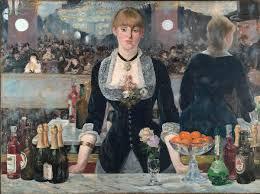 Il bar delle Folies-Bergère (Un bar aux Folie Bergère) di Édouard Manet