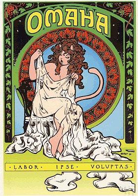 Omaha la Gattina Ballerina, eponima eroina del fumetto erotico creato da Kate Worely e Reed Waller.