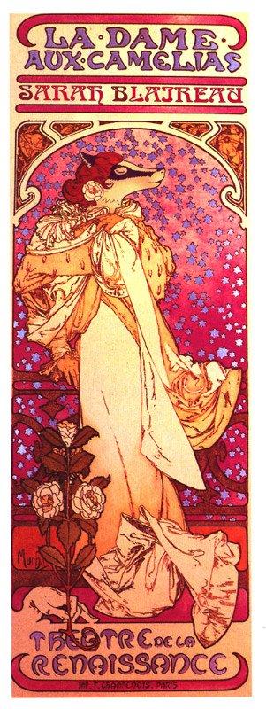 Sarah Blairow è ispirata a Sarah Bernhardt