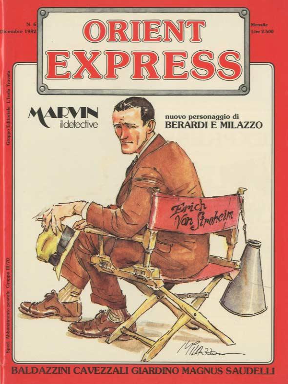 Copertina del n. 6 della rivista Orient Express