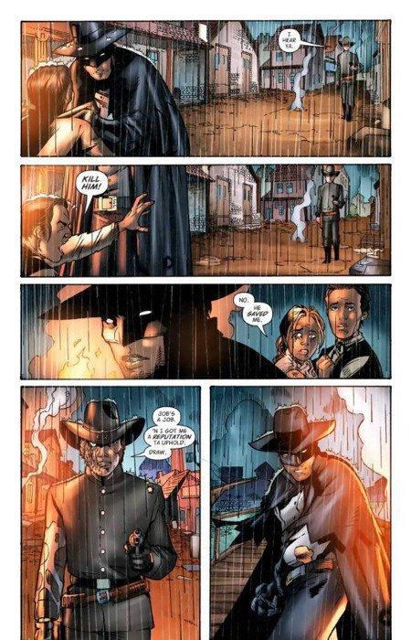 Batman (bruce wayne) ai tempi del far west incontra Jonah Hex- DC COMICS