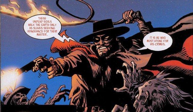 Lazarus Lane alias El Diablo. Dc Comics