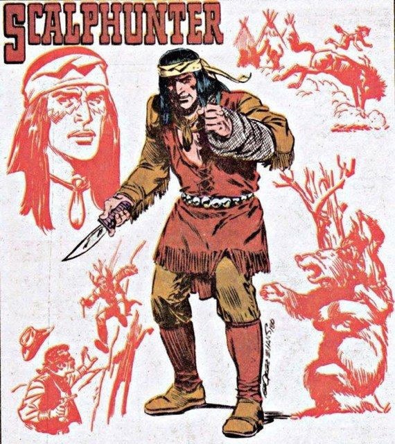 Scalphuner. DC COMICS
