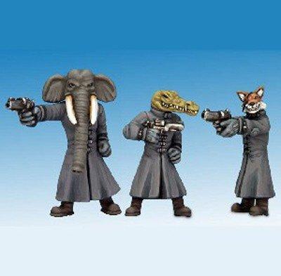 Due di questi assassini sono stati trasformati in figurine da Crooked Dice Game Design Studio. Immagine 3 di 9