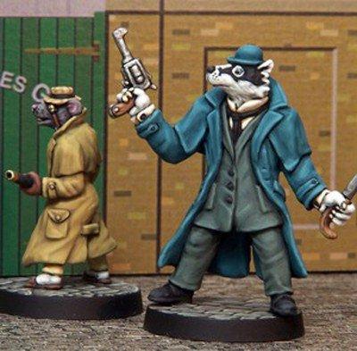 le figurine di LeBrock e Ratzi da Crooked Dice Game Design Studio. Immagine 4 di 9