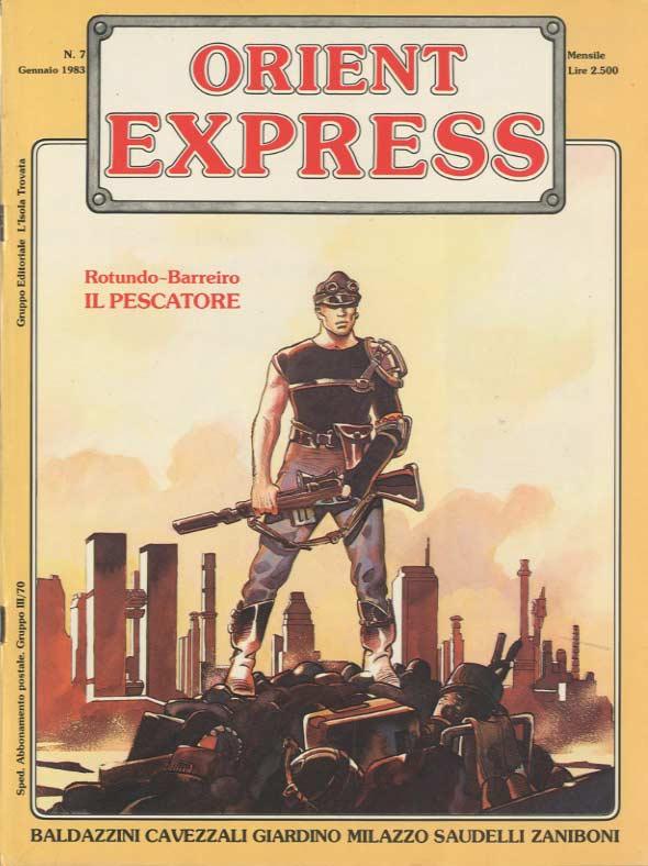 copertina del n. 7 di Orient Express (gennaio 1983)