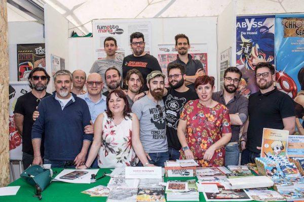 La super squadra di 14 artisti al Corolla Games&Comics 2018
