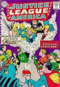 Il primo incontro tra la Justice League e la Justice Society