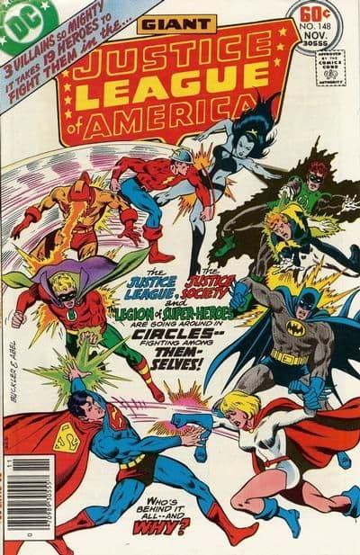 L'incontro tra la Justice League e la Justice Society e la Legione dei Supereroi